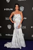 Actress Nikki Reed attends the 16th Annual Warner Bros and InStyle PostGolden Globe Party at The Beverly Hilton Hotel on January 11 2015 in Beverly...