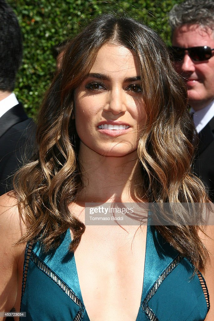 Actress Nikki Reed attends the 2014 Creative Arts Emmy Awards held at the Nokia Theatre LA Live on August 16 2014 in Los Angeles California