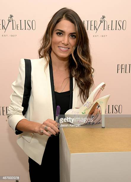 Actress Nikki Reed attends the 2014 Variety Power of Women presented by Lifetime at Beverly Wilshire Four Seasons Hotel on October 10 2014 in Los...