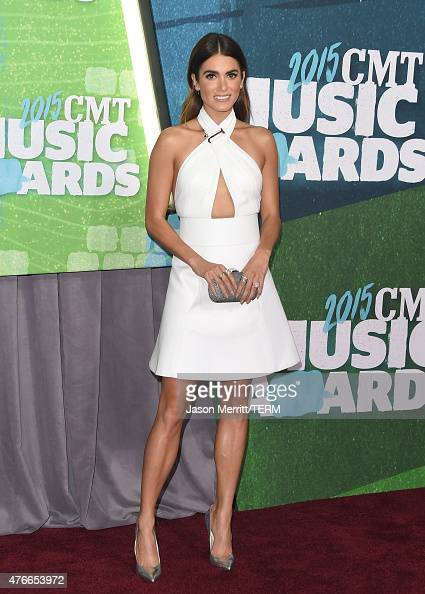 Actress Nikki Reed attends the 2015 CMT Music awards at the Bridgestone Arena on June 10 2015 in Nashville Tennessee