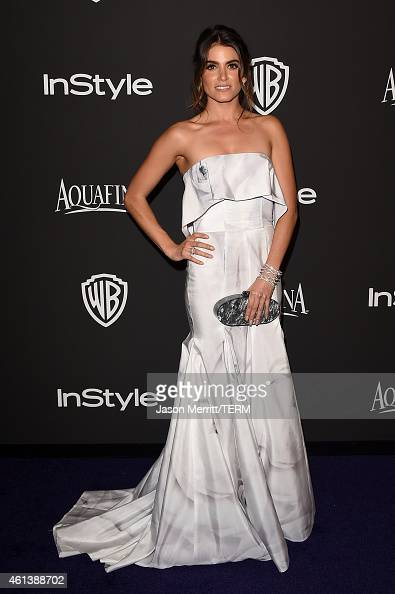 Actress Nikki Reed attends the 2015 InStyle And Warner Bros 72nd Annual Golden Globe Awards PostParty at The Beverly Hilton Hotel on January 11 2015...