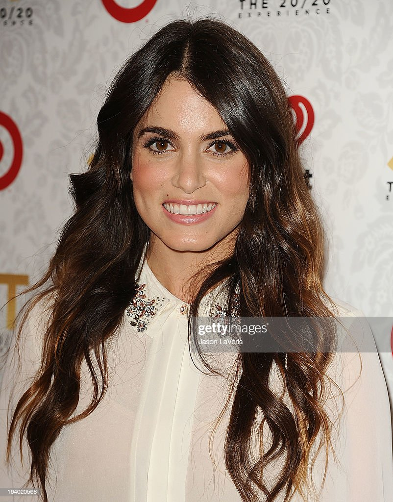 Actress Nikki Reed attends the '20/20' album release party with Justin Timberlake at El Rey Theatre on March 18 2013 in Los Angeles California