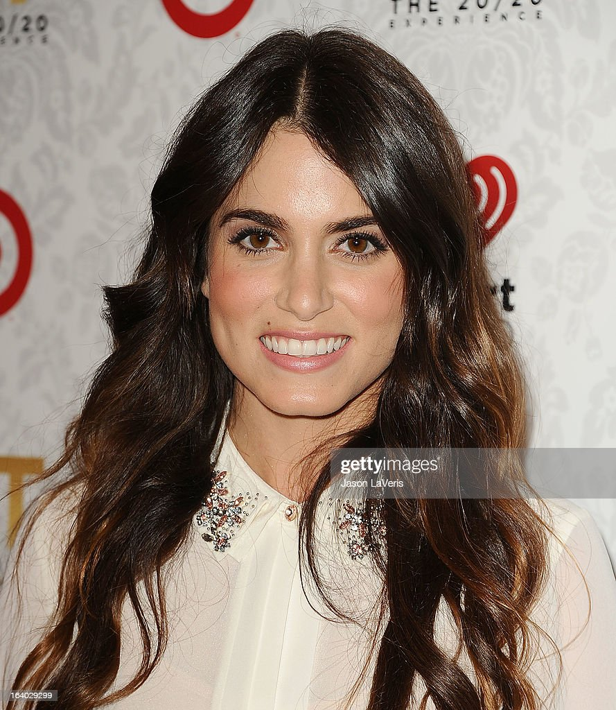 Actress Nikki Reed attends the '20/20' album release party with Justin Timberlake at El Rey Theatre on March 18, 2013 in Los Angeles, California.