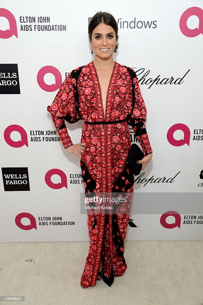 Actress <a gi-track='captionPersonalityLinkClicked' href=/galleries/search?phrase=Nikki+Reed&family=editorial&specificpeople=220844 ng-click='$event.stopPropagation()'>Nikki Reed</a> attends the 22nd Annual Elton John AIDS Foundation Academy Awards Viewing Party at The City of West Hollywood Park on March 2, 2014 in West Hollywood, California.