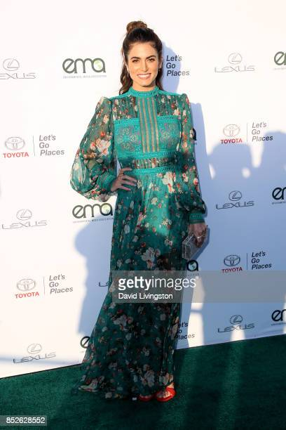 Actress Nikki Reed attends the 27th Annual EMA Awards at Barker Hangar on September 23 2017 in Santa Monica California