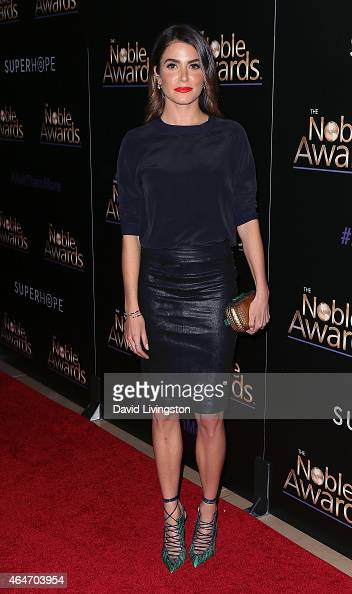 Actress Nikki Reed attends the 3rd Annual Noble Awards at the Beverly Hilton Hotel on February 27 2015 in Beverly Hills California