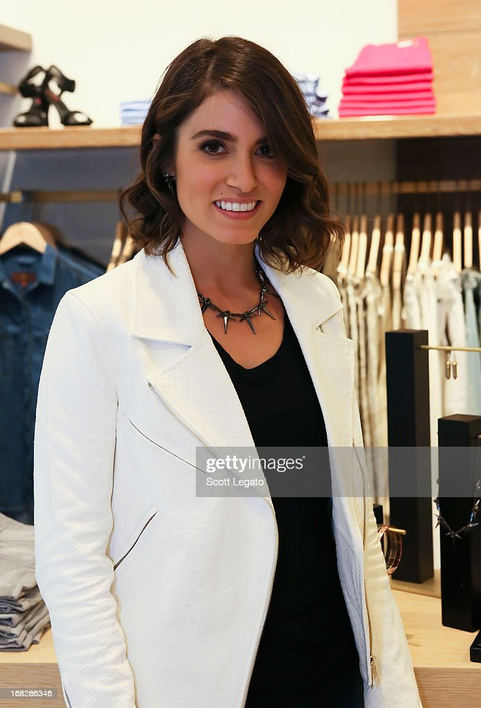 Actress Nikki Reed attends the 7 For All Mankind x Nikki Reed Jewelry Collection Launch on May 7, 2013 in Troy, Michigan.