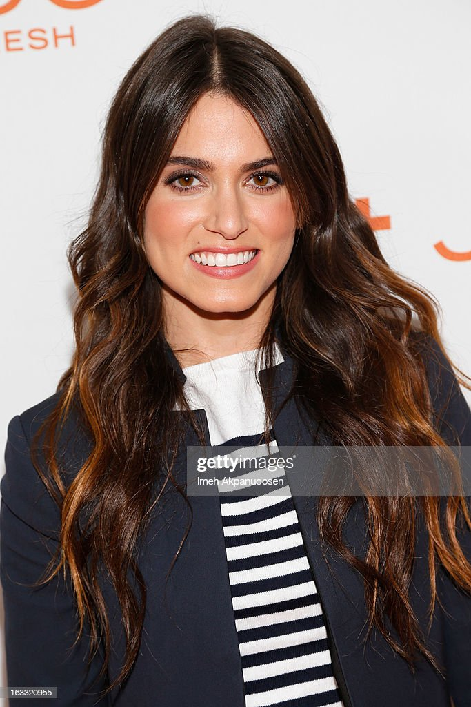 Actress <a gi-track='captionPersonalityLinkClicked' href=/galleries/search?phrase=Nikki+Reed&family=editorial&specificpeople=220844 ng-click='$event.stopPropagation()'>Nikki Reed</a> attends the Joe Fresh at jcp Pop Up event on March 7, 2013 in Los Angeles, California.
