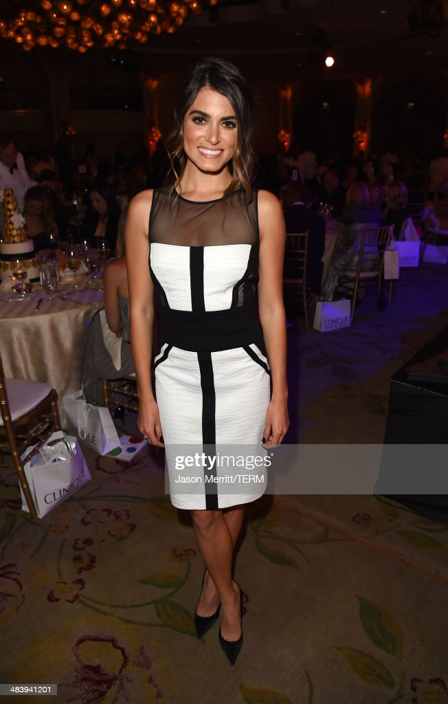 Actress <a gi-track='captionPersonalityLinkClicked' href=/galleries/search?phrase=Nikki+Reed&family=editorial&specificpeople=220844 ng-click='$event.stopPropagation()'>Nikki Reed</a> attends The Kaleidoscope Ball – Designing the Sweet Side of L.A. benefiting the UCLA Children's Discovery and Innovation Institute at Mattel Children's Hospital UCLA held at Beverly Hills Hotel on April 10, 2014 in Beverly Hills, California.