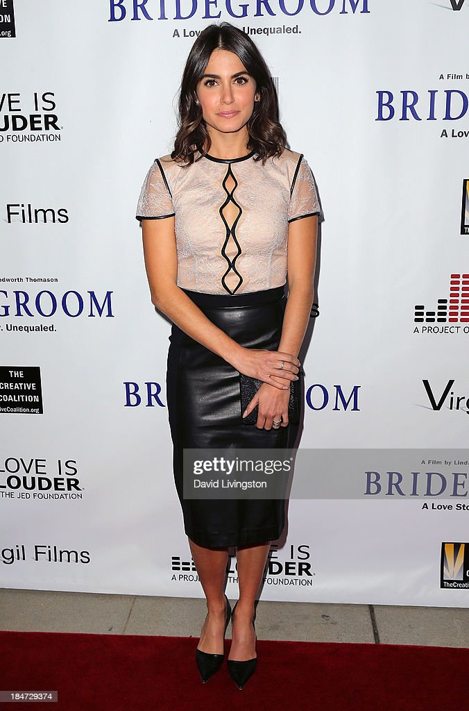 Actress <a gi-track='captionPersonalityLinkClicked' href=/galleries/search?phrase=Nikki+Reed&family=editorial&specificpeople=220844 ng-click='$event.stopPropagation()'>Nikki Reed</a> attends the premiere of 'Bridegroom' at the AMPAS Samuel Goldwyn Theater on October 15, 2013 in Beverly Hills, California.