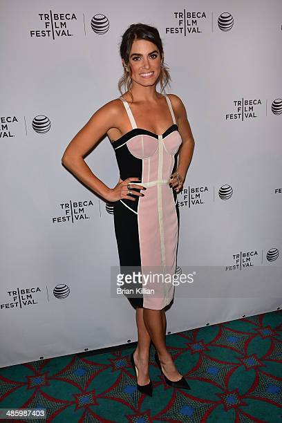 Actress Nikki Reed attends the screening of 'Intramural' during the 2014 Tribeca Film Festival at AMC Loews Village 7 on April 21 2014 in New York...