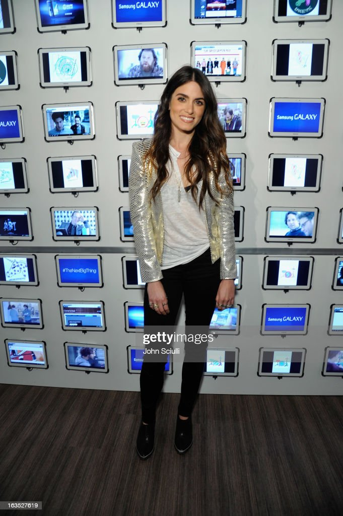 Actress <a gi-track='captionPersonalityLinkClicked' href=/galleries/search?phrase=Nikki+Reed&family=editorial&specificpeople=220844 ng-click='$event.stopPropagation()'>Nikki Reed</a> attends the 'Snap' cast dinner hosted by The Samsung Galaxy Experience at SXSW 2013 on March 11, 2013 in Austin, Texas.