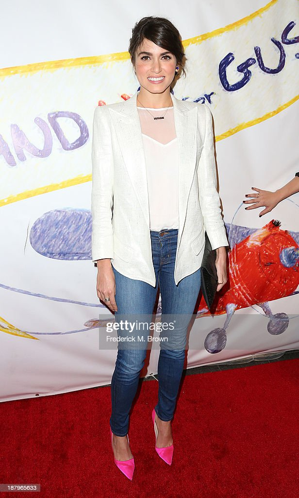 Actress Nikki Reed attends the 'Stand Up For Gus' Benefit at Bootsy Bellows on November 13, 2013 in West Hollywood, California.