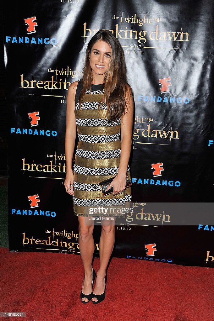 Actress <a gi-track='captionPersonalityLinkClicked' href=/galleries/search?phrase=Nikki+Reed&family=editorial&specificpeople=220844 ng-click='$event.stopPropagation()'>Nikki Reed</a> attends 'The Twilight Saga: Breaking Dawn Part 2' VIP Comic-Con Celebration Sponsored by Fandango at Float in the Hard Rock Hotel on July 11, 2012 in San Diego, California.