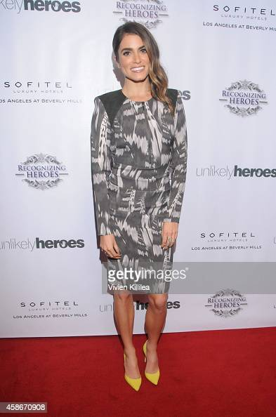Actress Nikki Reed attends the Unlikely Heroes' 3rd Annual Awards Dinner And Gala at Sofitel Hotel on November 8 2014 in Los Angeles California