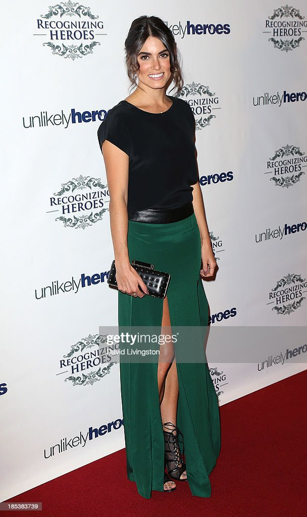 Actress Nikki Reed attends the Unlikely Heroes' Recognizing Heroes Awards Dinner & Gala at The Living Room at The W Hotel on October 19, 2013 in Los Angeles, California.