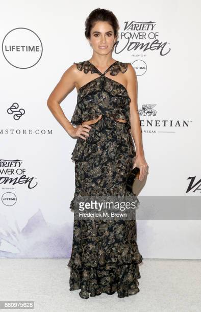 Actress Nikki Reed attends the Variety's Power Of Women at the Beverly Wilshire Four Seasons Hotel on October 13 2017 in Beverly Hills California