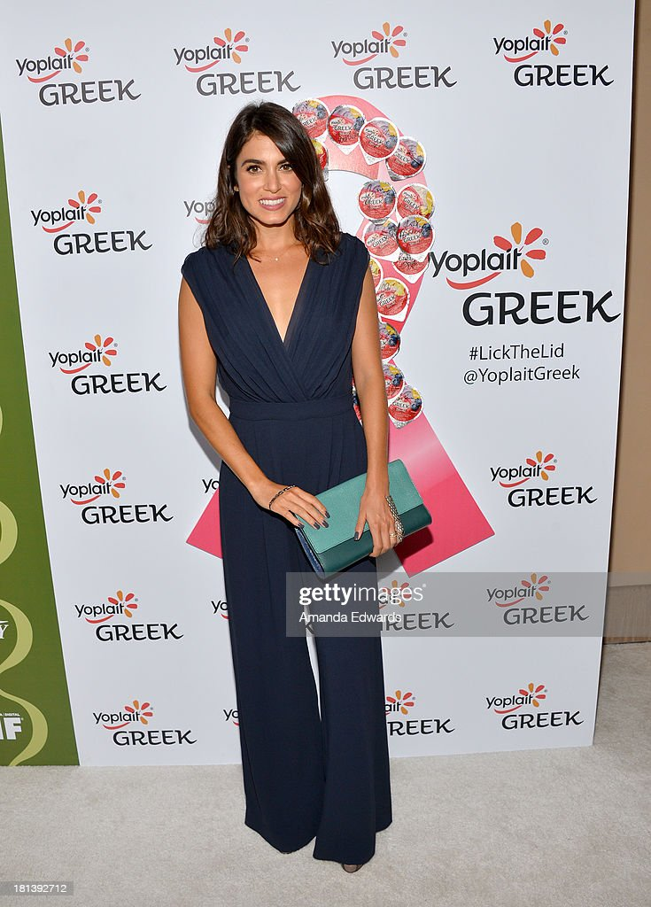 Actress <a gi-track='captionPersonalityLinkClicked' href=/galleries/search?phrase=Nikki+Reed&family=editorial&specificpeople=220844 ng-click='$event.stopPropagation()'>Nikki Reed</a> attends Variety & Women In Film Pre-Emmy Event presented by Yoplait Greek at Scarpetta on September 20, 2013 in Beverly Hills, California.
