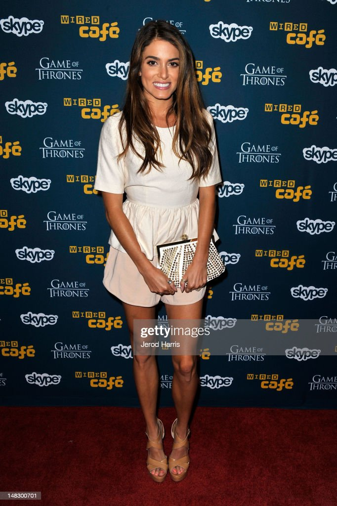 Actress <a gi-track='captionPersonalityLinkClicked' href=/galleries/search?phrase=Nikki+Reed&family=editorial&specificpeople=220844 ng-click='$event.stopPropagation()'>Nikki Reed</a> attends WIRED Cafe At Comic-Con held at Palm Terrace at the Omni Hotel on July 13, 2012 in San Diego, California.