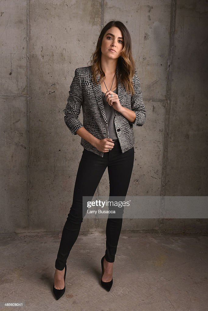 Actress <a gi-track='captionPersonalityLinkClicked' href=/galleries/search?phrase=Nikki+Reed&family=editorial&specificpeople=220844 ng-click='$event.stopPropagation()'>Nikki Reed</a> from 'Intramural' poses for the Tribeca Film Festival Getty Images Studio on April 21, 2014 in New York City.