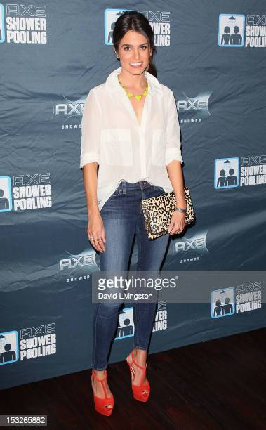 Actress Nikki Reed hosts the AXE Showerpooling event on October 2 2012 in Los Angeles California