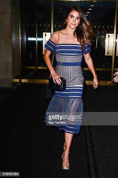 Actress Nikki Reed leaves the 'Today Show' taping at the NBC Rockefeller Center Studios on June 9 2015 in New York City
