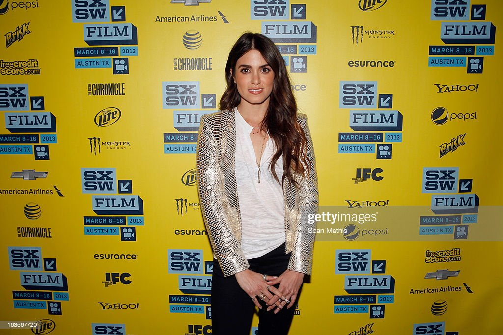 Actress Nikki Reed poses in the greenroom at the screening of 'Snap' during the 2013 SXSW Music, Film + Interactive Festival at Alamo Ritz on March 11, 2013 in Austin, Texas.