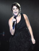 Actress Nikki Reed speaks onstage duringSpike TV's 'Scream 2010' at The Greek Theatre on October 16 2010 in Los Angeles California