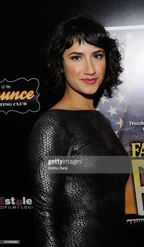 Actress Nikohl Boosheri attends the 'Farah Goes Bang' after party during the 2013 Tribeca Film Festival at Bounce Sporting Club on April 19, 2013 in New York City.