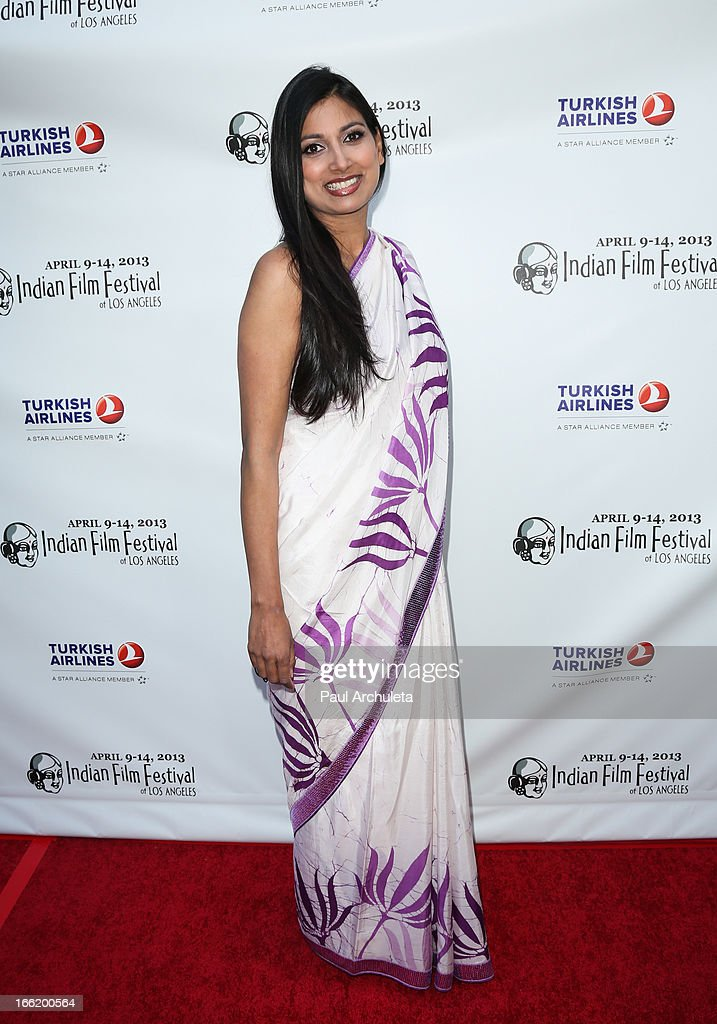 Actress Nimmi Harasgama attends the Indian Film Festival Of Los Angeles (IFFLA) opening night gala for 'Gangs Of Wasseypur' at ArcLight Cinemas on April 9, 2013 in Hollywood, California.