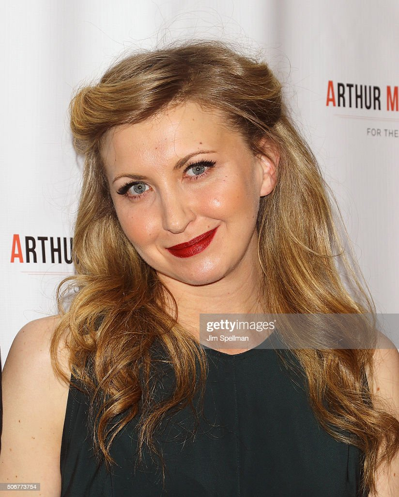 Actress Nina Arianda attends the Arthur Miller - One Night 100 Years Benefit at Lyceum Theatre on January 25, 2016 in New York City.