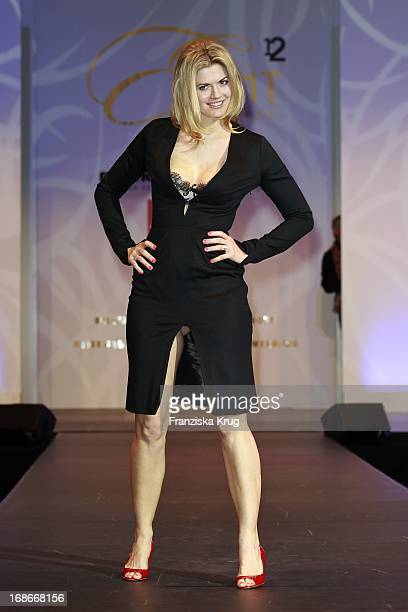 Actress Nina Bott at The Event Prominent fashion show at the Grand Elysée in Hamburg