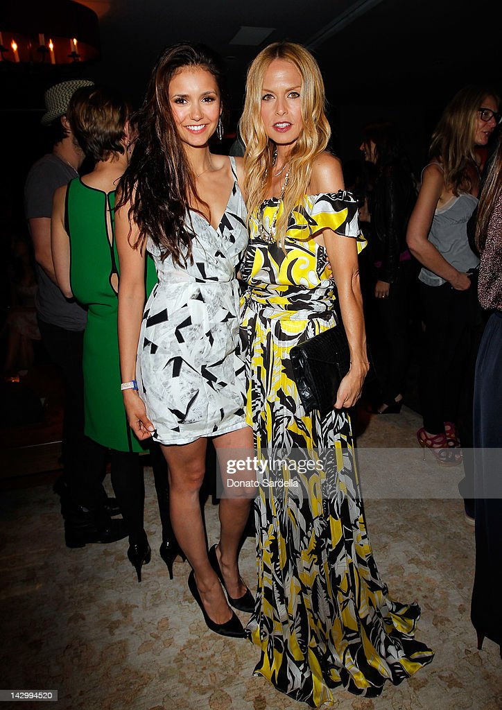 Actress <a gi-track='captionPersonalityLinkClicked' href=/galleries/search?phrase=Nina+Dobrev&family=editorial&specificpeople=4397485 ng-click='$event.stopPropagation()'>Nina Dobrev</a> (L) and stylist <a gi-track='captionPersonalityLinkClicked' href=/galleries/search?phrase=Rachel+Zoe+-+Stylist&family=editorial&specificpeople=546501 ng-click='$event.stopPropagation()'>Rachel Zoe</a> attend a celebration for Glamour's new book 'Thirty Things Every Woman Should Have and Should Know by the Time She's 30' with Cindi Leive and <a gi-track='captionPersonalityLinkClicked' href=/galleries/search?phrase=Rachel+Zoe+-+Stylist&family=editorial&specificpeople=546501 ng-click='$event.stopPropagation()'>Rachel Zoe</a> on April 16, 2012 in West Hollywood, California.