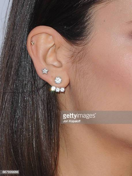 Actress Nina Dobrev arrives at the Los Angeles Premiere 'The Promise' at TCL Chinese Theatre on April 12 2017 in Hollywood California