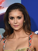 Actress Nina Dobrev arrives at the premiere of Twentieth Century Fox's 'Let's Be Cops' at ArcLight Hollywood on August 7 2014 in Hollywood California