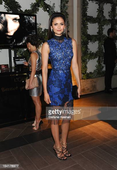 Actress Nina Dobrev attends ELLE's 19th Annual Women In Hollywood Celebration at the Four Seasons Hotel on October 15 2012 in Beverly Hills California