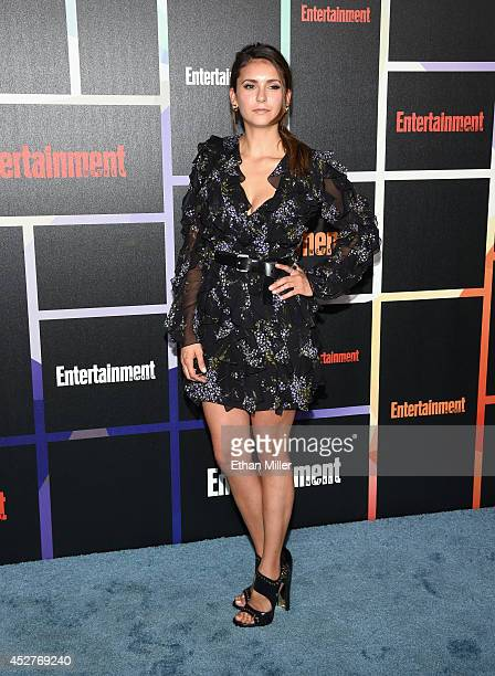 Actress Nina Dobrev attends Entertainment Weekly's annual ComicCon celebration at Float at Hard Rock Hotel San Diego on July 26 2014 in San Diego...