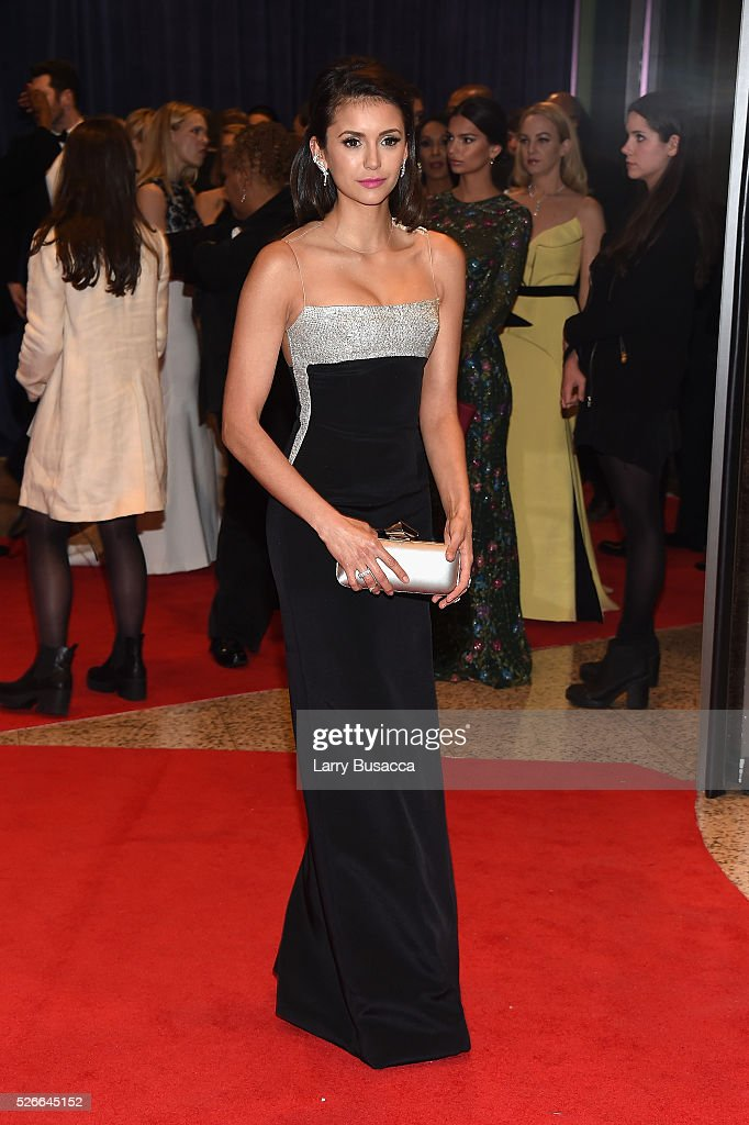 Actress Nina Dobrev attends the 102nd White House Correspondents' Association Dinner on April 30, 2016 in Washington, DC.
