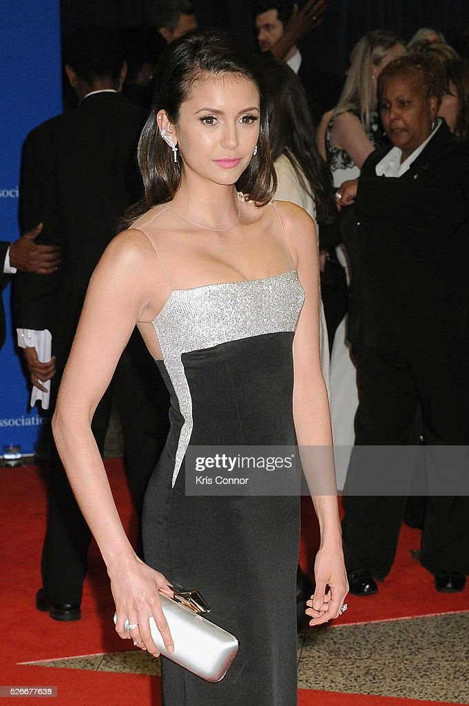 Actress <a gi-track='captionPersonalityLinkClicked' href=/galleries/search?phrase=Nina+Dobrev&family=editorial&specificpeople=4397485 ng-click='$event.stopPropagation()'>Nina Dobrev</a> attends the 102nd White House Correspondents' Association Dinner on April 30, 2016 in Washington, DC.