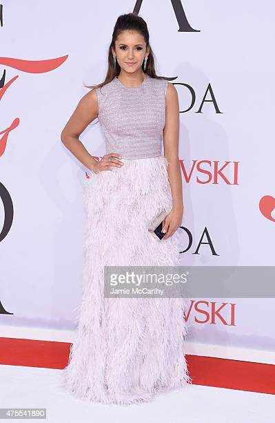 Actress Nina Dobrev attends the 2015 CFDA Fashion Awards at Alice Tully Hall at Lincoln Center on June 1 2015 in New York City