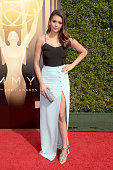 Actress Nina Dobrev attends the 2015 Creative Arts Emmy Awards at Microsoft Theater on September 12 2015 in Los Angeles California