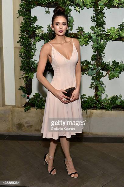 Actress Nina Dobrev attends the 22nd Annual ELLE Women in Hollywood Awards presented by Calvin Klein Collection L'Oréal Paris and David Yurman at the...