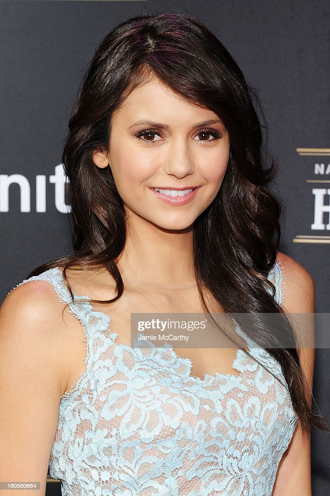 Actress Nina Dobrev attends the 2nd Annual NFL Honors at Mahalia Jackson Theater on February 2, 2013 in New Orleans, Louisiana.