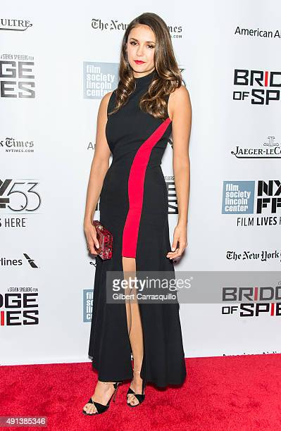 Actress Nina Dobrev attends the 53rd New York Film Festival 'Bridge Of Spies' at Alice Tully Hall Lincoln Center on October 4 2015 in New York City