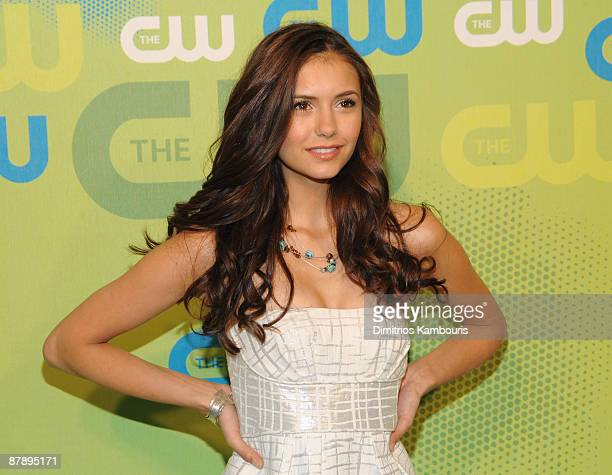 Actress Nina Dobrev attends the CW Network 2009 Upfront at Madison Square Garden on May 21 2009 in New York City