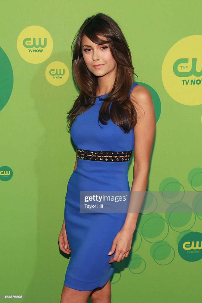 Actress Nina Dobrev attends The CW Network's New York 2013 Upfront Presentation at The London Hotel on May 16, 2013 in New York City.