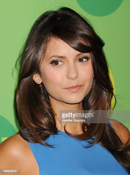 Actress Nina Dobrev attends The CW Network's New York 2013 Upfront Presentation at The London Hotel on May 16 2013 in New York City