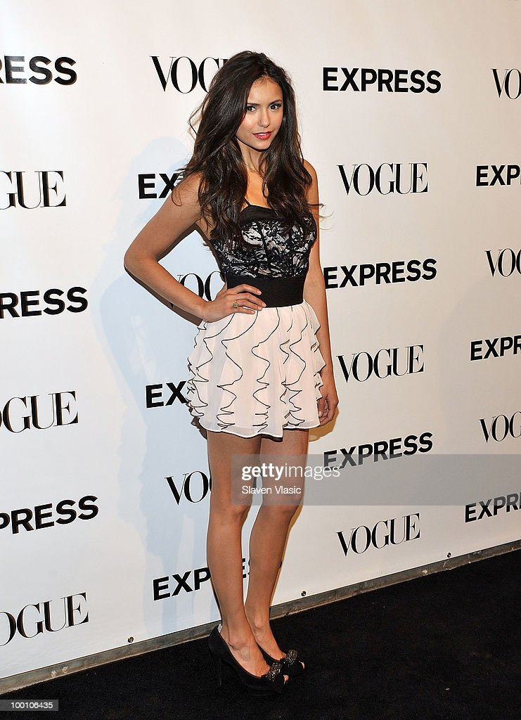 Actress Nina Dobrev attends the EXPRESS 30th anniversary party at Eyebeam on May 20, 2010 in New York City.