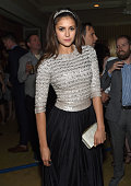 Actress Nina Dobrev attends the Grey Goose hosted Michael Sugar Doug Wald and Warren Zavala preoscar party at Sunset Tower on February 21 2015 in...
