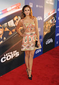 Actress Nina Dobrev attends the 'Let's Be Cops' Los Angeles Premiere held at the ArcLight Hollywood on August 7 2014 in Hollywood California